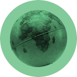 Crowd fund globe